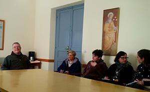 CNCA_Marina_Galati_e_i_delegati_CNCA_con_larcivescovo_di_Tangheri